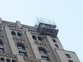 suspended platform scaffolding service